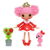 Lalaloopsy Mini 533894 Кукла Лалалупси Мини Королева Сердец (Queenie Red Heart)