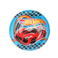 "Набор тарелок ""Hot Wheels"", 18 см, 6 штук"