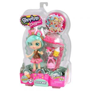 Moose 56162 Shopkins Кукла Шоппис Пеппа Минт