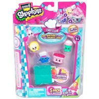 Moose 56331 Shopkins S6 Набор из 5 штук в блистере