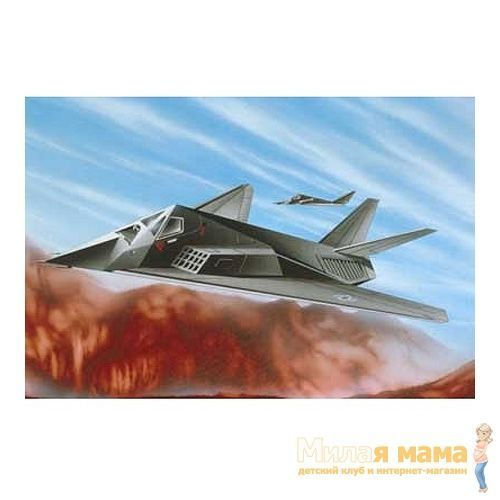 "Игрушка Набор ""Самолет F-117 Stealth Fighter"", масштаб 1:144"