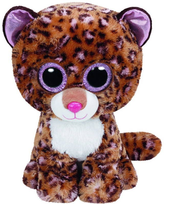 TY 37068 Beanie Boo's Мягкая игрушка Леопард Patches, 25 см