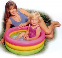 "INTEX int58924NP Бассейн надувной ""Sunset Glow Baby Pool"" 86х25см (до 3-х лет) (Китай)"