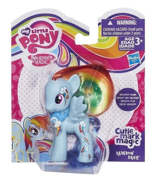"My Little Pony Серия ""Cutie Mark Magic"" Пони Rainbow Dash (B0388)"