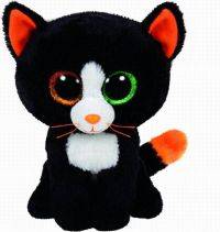 TY 37056 Beanie Boo's Мягкая игрушка Котенок Frights, 25 см