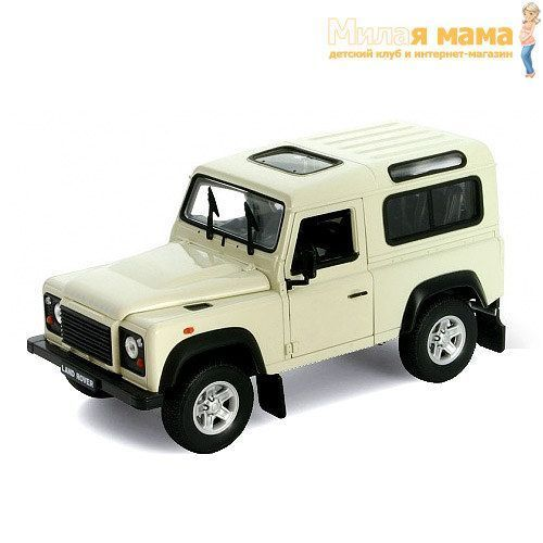 Welly 22498 Модель машины 1:24 Land Rover Defender