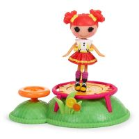 Lalaloopsy Mini 530404 Кукла Лалалупси Мини Веселый спорт, Батут
