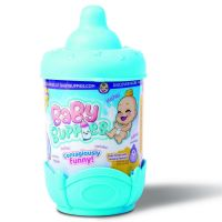 TigerHead BP002D2 Интерактивный малыш Baby Buppies в голубой колыбельке