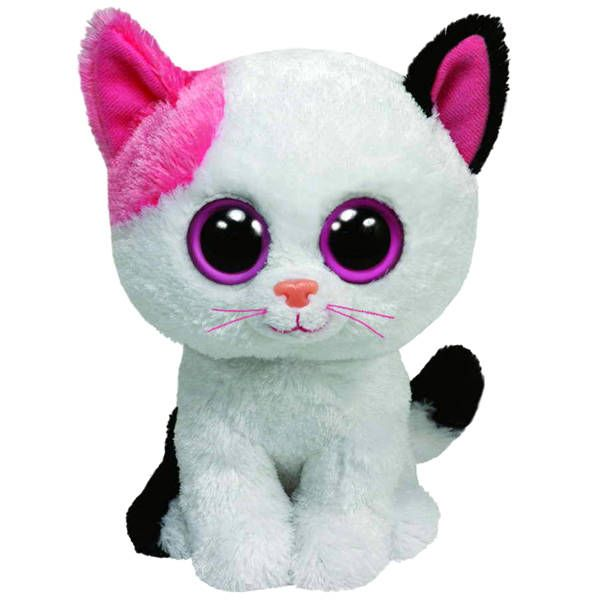 TY 36086 Beanie Boo's Мягкая игрушка Котенок Muffin, 15 см