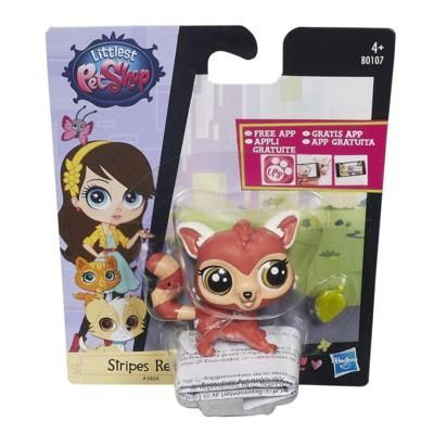Hasbro A8229 Зверюшка LPS Енот Stripes Reddy (B0107)