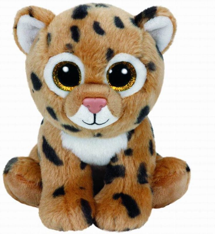 TY 42120 Beanie Boo's Мягкая игрушка Леопард Freckles, 15 см