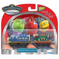 StackTrack Chuggington LC54125 Паровозик Брюстер с прицепом - LC54125_pack.jpg
