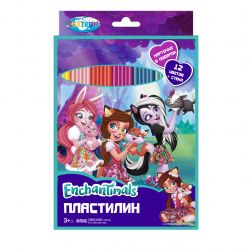 "Centrum 88617 Пластилин ""Enchantimals"", 12 цветов"