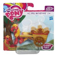 Hasbro B2208 My Little Pony Семья Эпл Мини-пони Биг Макинтош с тележкой