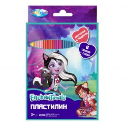 "Centrum 88615 Пластилин ""Enchantimals"",  6 цветов"