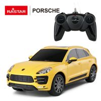 RASTAR 71800Y Машина р/у 1:24 Porsche Macan Turbo Цвет Желтый