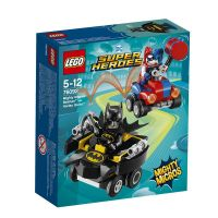 LEGO 76092-L Конструктор LEGO SUPER HERO Mighty Micros: Бэтмен против Харли Квин