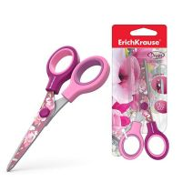 ErichKrause 14598EK Ножницы Junior Decor Magnolia с принтом на лезвиях, 13 см