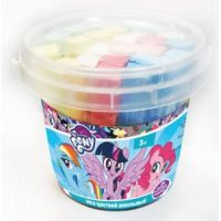 "Centrum 88725 Мел цветной ""My Little Pony"" 25 шт в ведерке"
