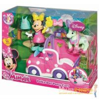 Fisher Price BJN99 Minnie Mouse Экипаж Минни