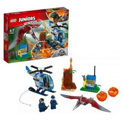 Lego Juniors Jurassic World 10756 Конструктор Лего Побег Птеранодона, 84 детали