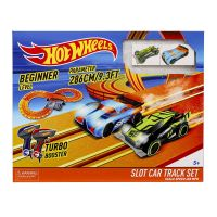 KidzTech 83105 Гоночный трек Hot Wheels 286 см, на батарейках