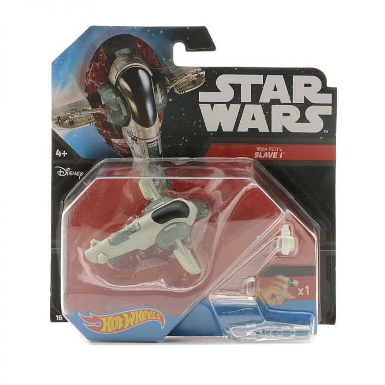 Mattel DRX06 Hot Wheels Star Wars Звездный корабль «Slave I»