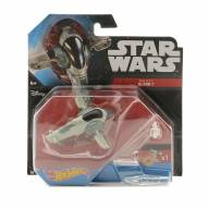 Mattel DRX06 Hot Wheels Star Wars Звездный корабль «Slave I» - Mattel DRX06 Hot Wheels Star Wars Звездный корабль «Slave I»