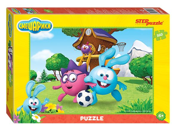 "Step Puzzle 94057 Пазл ""Смешарики"", 160 деталей"