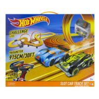 KidzTech 83130 Гоночный трек Hot Wheels 915 см, на батарейках