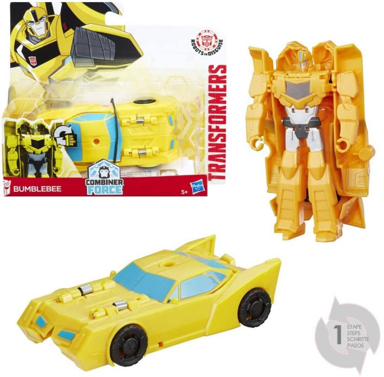 Hasbro C0646 Transformers Robots in Disguise Робот-трансформер One Step, Bumblebee