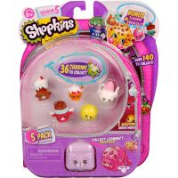 Moose 56251 Shopkins 5 сезон Набор из 5 штук в блистере
