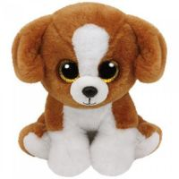 TY 42182 Beanie Babies Мягкая игрушка Щенок Snicky, 15 см