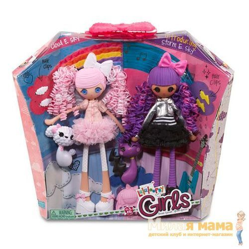 Lalaloopsy Girls 530626 Лалалупси Герлз Облачко и Тучка