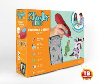 Wobble Works (HY) Limited 3DS-PDSP-MUL-R 3Д Ручка 3DOODLER START, подарочный набор Дизайнер