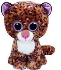 TY 37177 Beanie Boo's Мягкая игрушка Леопард Patches, 15 см