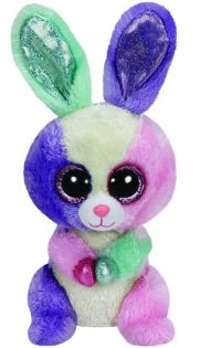 TY 36127 Beanie Boo's Мягкая игрушка Зайчик Bloom Easter, 15 см