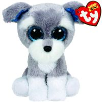 TY 36150 Beanie Boo's Мягкая игрушка щенок Whiskers, 15 см