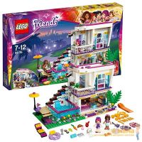 Lego Friends 41135 Лего Подружки Поп-звезда: дом Ливи