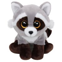 TY 90228 Beanie Boo's Мягкая игрушка Енот Bandit, 23 см