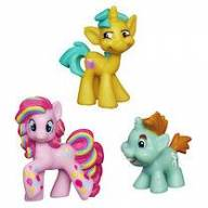 Hasbro A6688 My Little Pony Мини-набор из 3 пони - Snailsquirm, Snipsy Snap, Rainbowfied Pinkie Pie - A6688_31.jpg