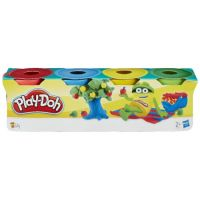 Hasbro 23241 Play-Doh Набор пластилина из 4 мини-баночек по 56г