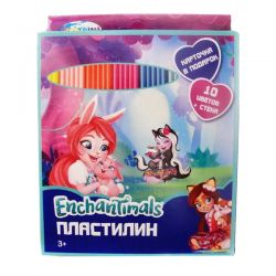 "Centrum 88616 Пластилин ""Enchantimals"", 10 цветов"