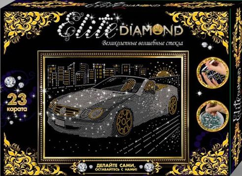 "Лапландия 45719 Набор для творчества Серия Стразы ""Elite Diamond"" Автомобиль"