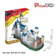 Cubic Fun MC062h Нойшванштайн замок (Германия) - MC062h_Cubic_Fun_size_enl.jpg