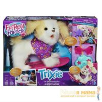 Hasbro A1649 FurReal Friends Щенок Трикси на скейтборде