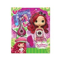 Strawberry Shortcake 12220 Шарлотта Земляничка Кукла Земляничка, 28 см со звуком