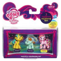 Hasbro A6688 My Little Pony Мини-набор из 3 пони - Snailsquirm, Snipsy Snap, Rainbowfied Pinkie Pie