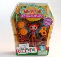 Lalaloopsy Mini Кукла Лалалупси мини Маскарад Ace Fender Bender